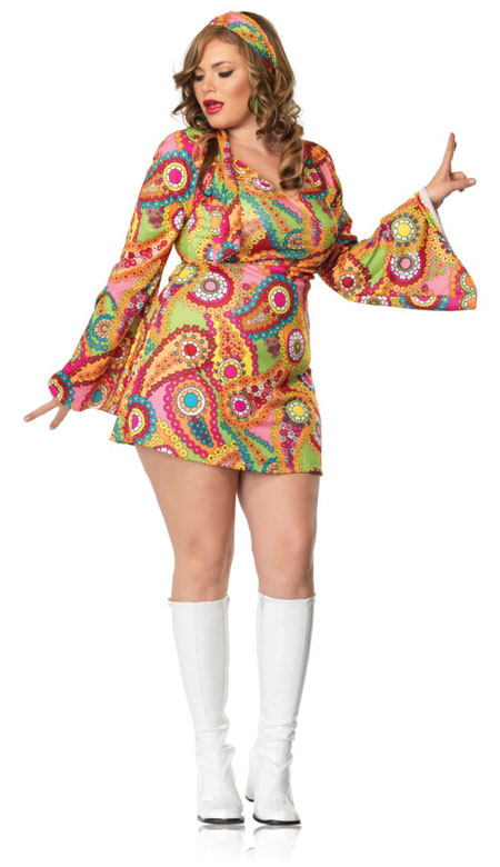 Hippie Chick Dress Plus Size