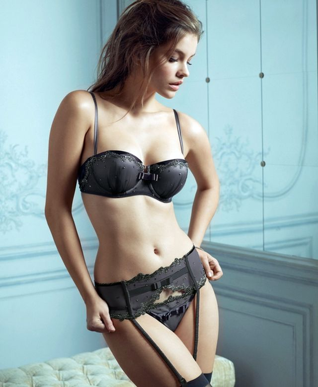 Sensual honeymoon lingerie